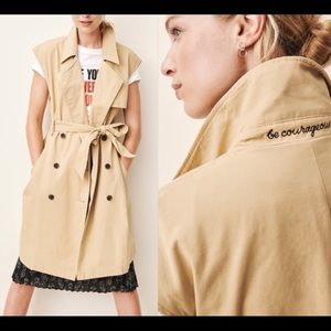 A New Day Vital Voices Trench Vest - L